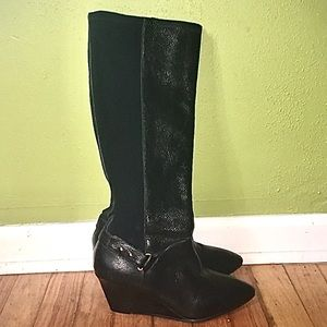 Knee high Steve Madden leather boots